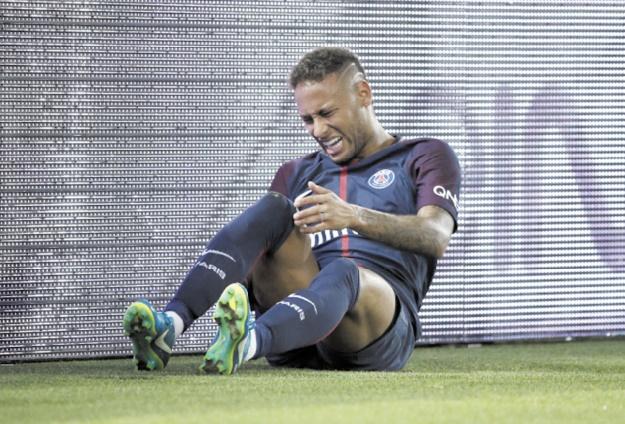 Le Real s'éloigne pour Neymar