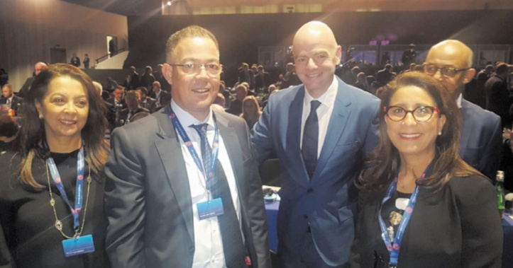 Mondial 2018 : Lekjaa promeut la candidature marocaine à l'AG de l'UEFA