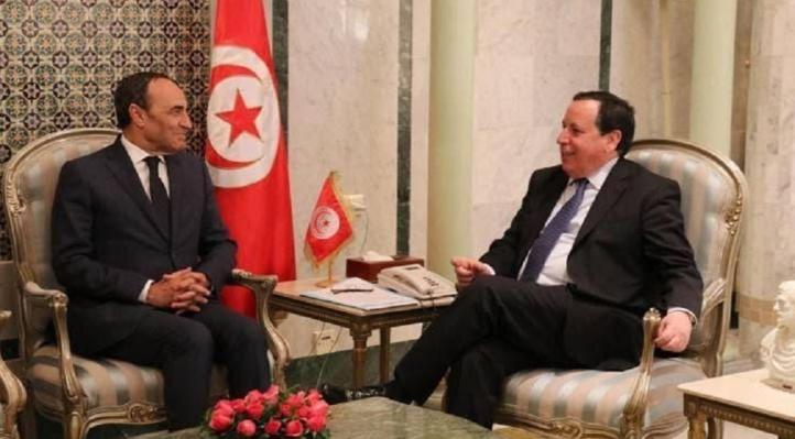 Pourparlers de haut niveau de Habib El Malki à Tunis