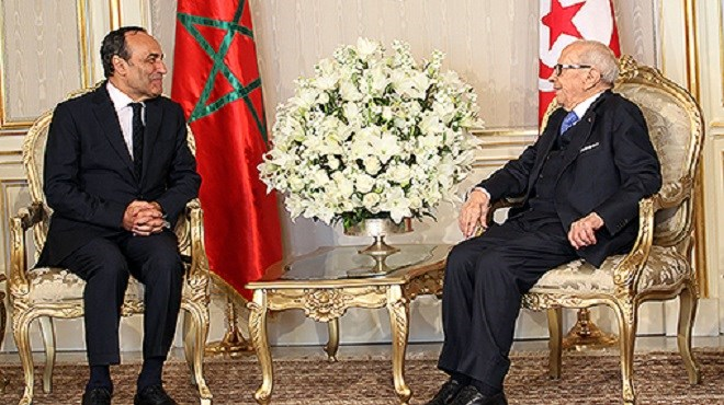 Habib El Malki reçu en audience par  le président de la République tunisienne