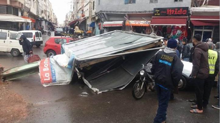 """""""Après la pluie... les dégâts"""""""