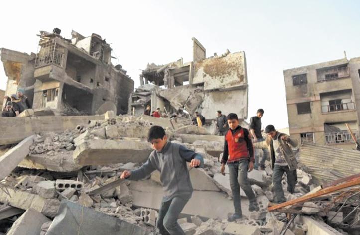 L'ONU accuse Damas de planifier l'apocalypse