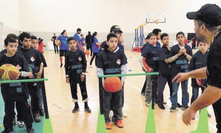 La caravane nationale de TIBU School pour la promotion de la pratique du basket