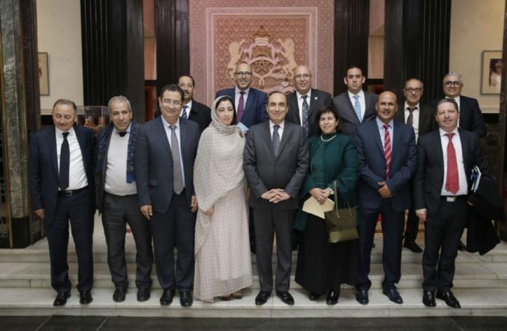 Habib El Malki s'adressant aux membres du bureau exécutif de l'Association marocaine des présidents des conseils communaux : La chose locale, un pilier fondamental de l'édification démocratique