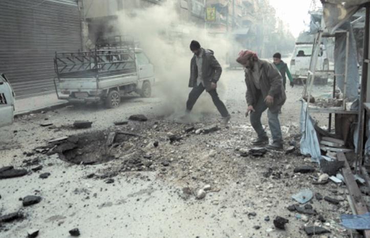 La Ghouta orientale pilonnée sans répit