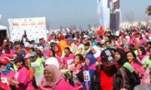 Forte participation à la 4ème édition de la Course féminine sur route d'Essaouira