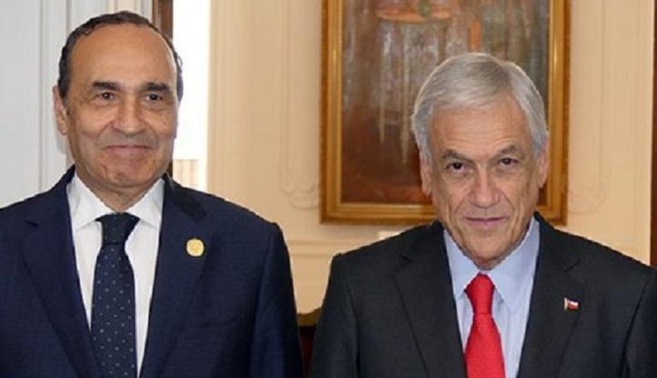 Sebastián Piñera : L'intégrité territoriale du Maroc est un principe constant au Chili