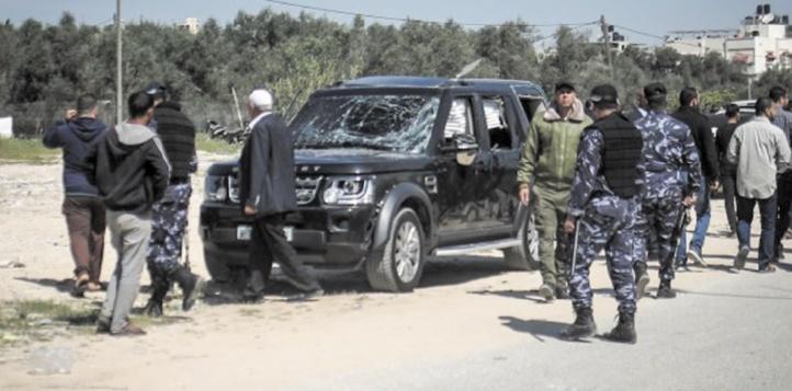 Une explosion vise le convoi du Premier ministre palestinien