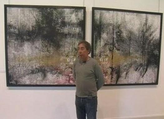 L'artiste plasticien Noureddine Fathy : Peindre comme on écrit