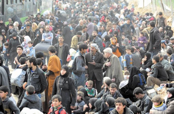 20.000 civils ont fui la partie rebelle de la Ghouta
