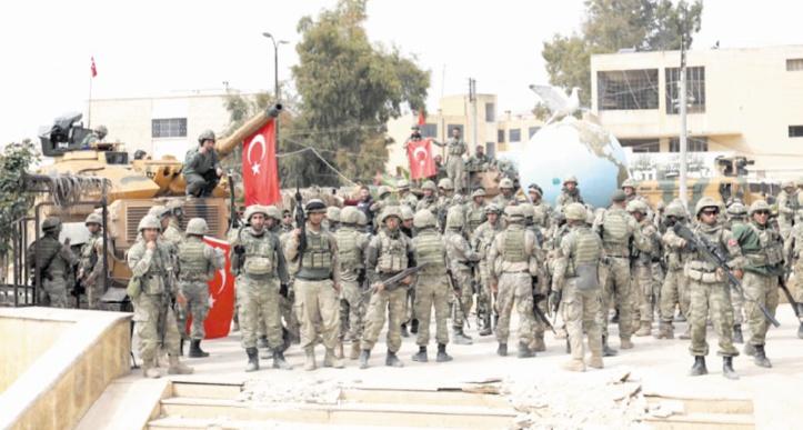 L'armée turque dans Afrine, Bachar al-Assad dans la Goutha