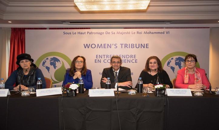 """""""Entreprendre en conscience"""" en débat au Women's Tribune à Essaouira"""