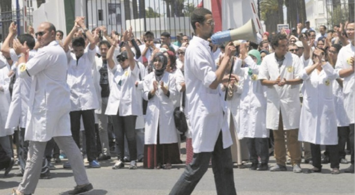 Le personnel du CHU Ibn Rochd en grève