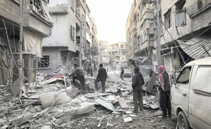 Des combattants prorégime tués dans une attaque de l'EI à Damas
