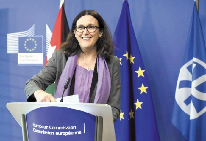 Signes d'apaisement entre Washington et les Européens sur le commerce
