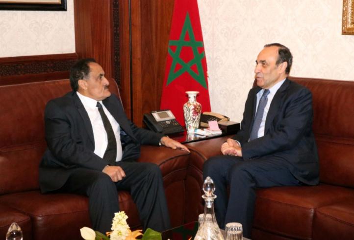 Habib El Malki reçoit l'ambassadeur de Libye