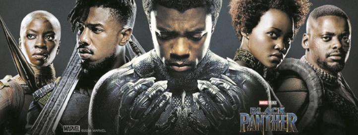 """""""Black Panther"""" détrôné au box-office par des robots"""