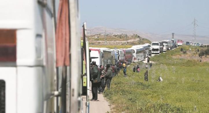 La Ghouta continue de se vider de ses combattants