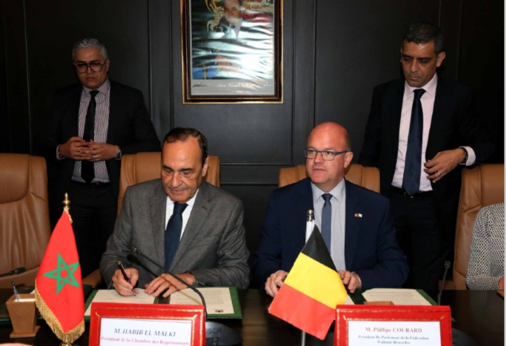 Mémorandum d'entente entre la Chambre des représentants et le Parlement de la Fédération Wallonie-Bruxelles