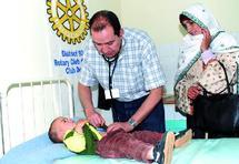 Caravane médicale du Rotary Club Agadir : Sensibilisation à une maternité sans risque