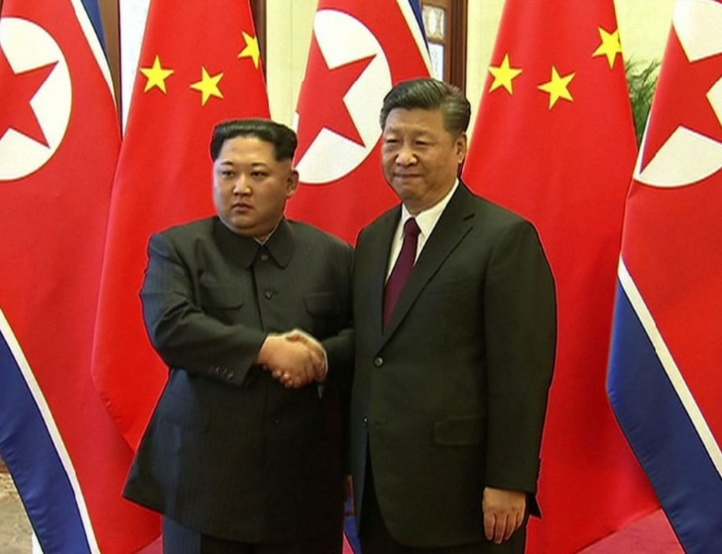A Pékin, Kim Jong-un promet l'arrêt du programme nucléaire nord-coréen
