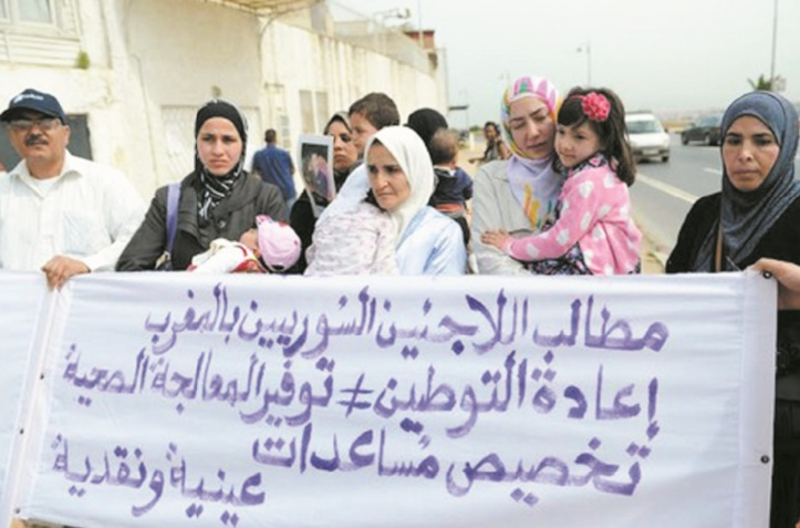 Le combat de Sisyphe de centaines de Syriens désireux de regagner le Maroc