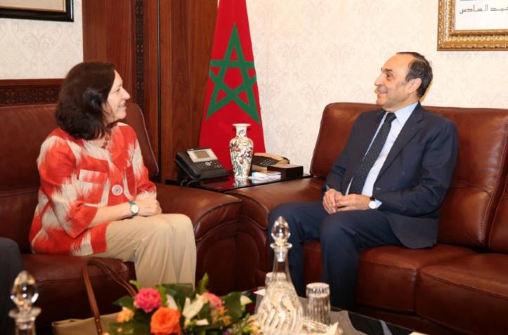 La coopération USAID- Maroc au centre des entretiens entre Habib El Malki et Dana Mansuri