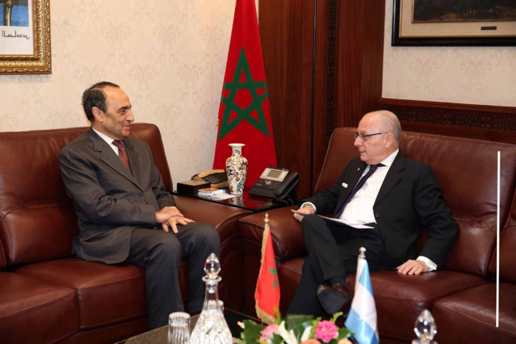 Jorge Faurie et Habib El Malki