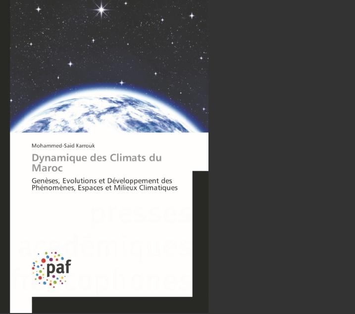 """""""Dynamique des climats du Maroc"""", le nouveau-né de Mohammed-Said Karrouk"""