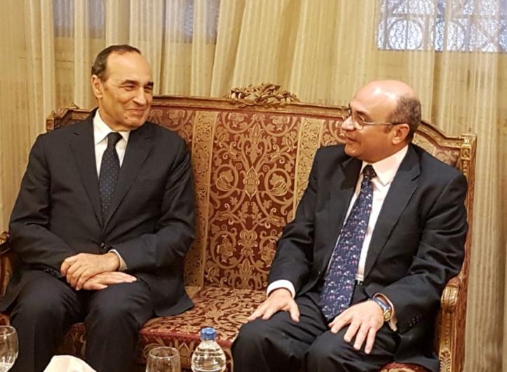 Le président de la Chambre des représentants et Ali Abdel Aal.