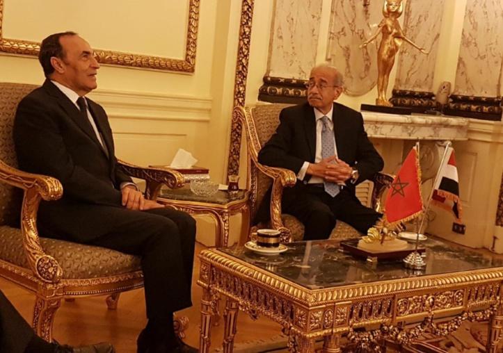 Habib El Malki et Sherif Ismail.