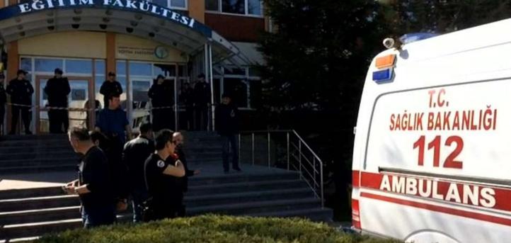 Fusillade dans une université en Turquie