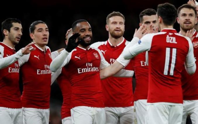 Arsenal pratiquement en demi-finale de l'Europa League