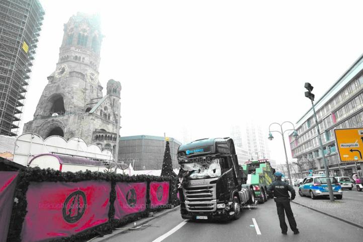 Deux morts dans une attaque d'une camionnette-bélier en Allemagne