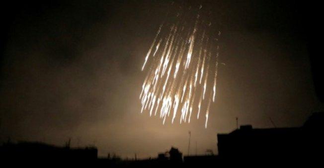 Frappes aériennes meurtrières sur la ville de Douma