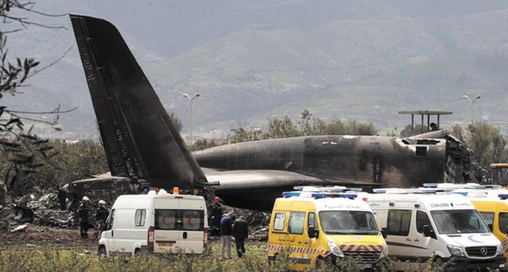 Un Iliouchine algérien se crashe entre Boufarik et Tindouf