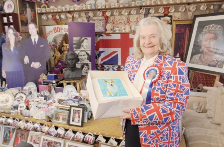 Margaret Tyler, super fan de la monarchie au Royaume Uni
