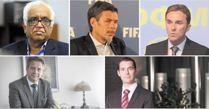 Les cinq membres de la Task force.