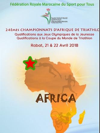Triathlon : Rabat à l'heure des 24èmes Championnats d'Afrique et des qualifications aux JO de la jeunesse