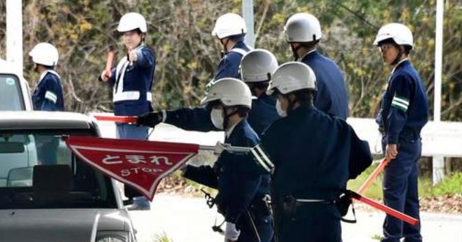 Insolite : Mobilisation policière