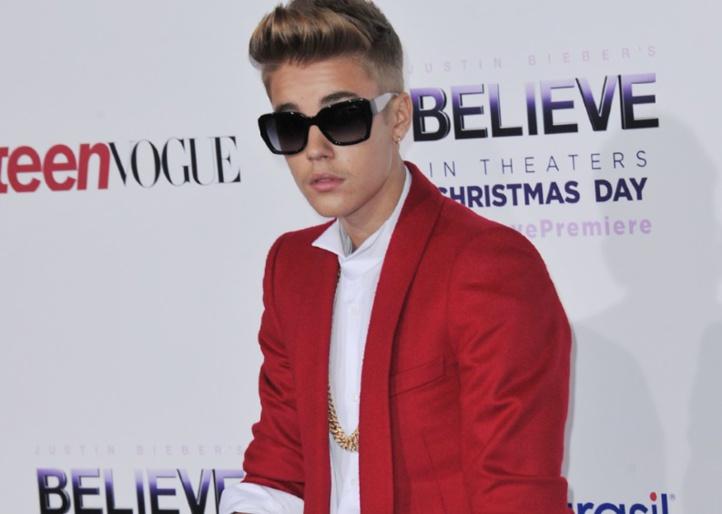 Un dérapage pour la bonne cause de Justin Bieber