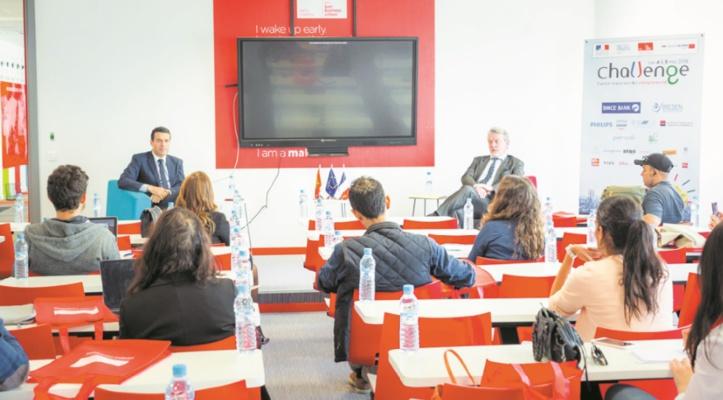 Challenge franco-marocain de l'entrepreneuriat à Casablanca