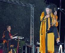 Festival d'Errachidia  : Belle prestation de Zina Daoudia