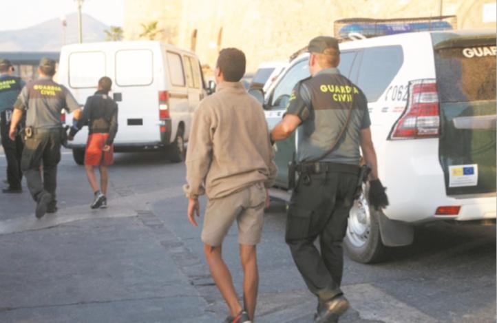 Dans l'attente d'un programme majeur pour les mineurs marocains de Sebta : Le contrôle et la sécurité passent en premier