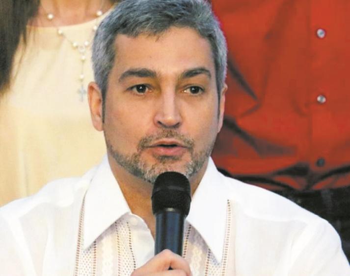 Mario Abdo Benitez, président au passé familial encombrant