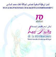 """10ème édition des """"Nuits de la Méditerranée"""" : Grande odyssée musicale à Tanger"""