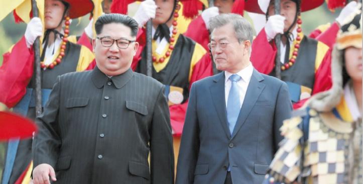 Sommet historique entre les deux Corées