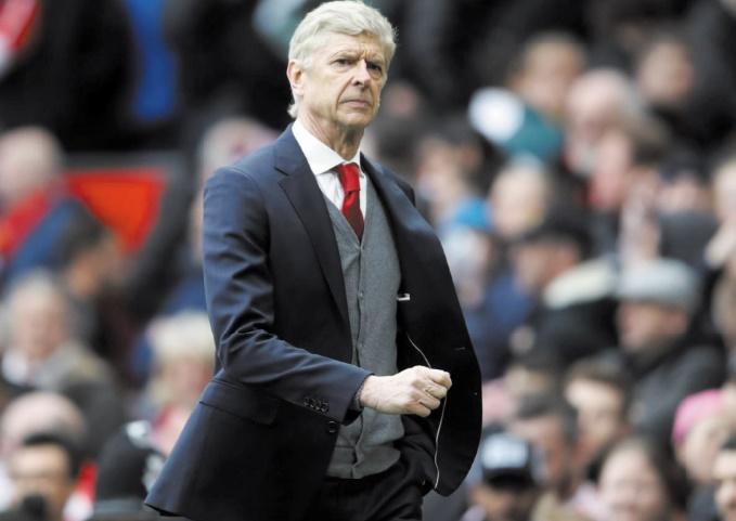 Wenger quitte Old Trafford sur une défaite