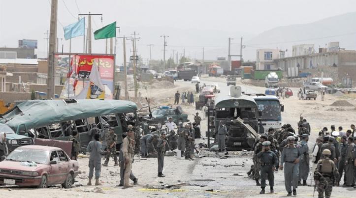 Au moins 25 morts dans un double attentat suicide à Kaboul