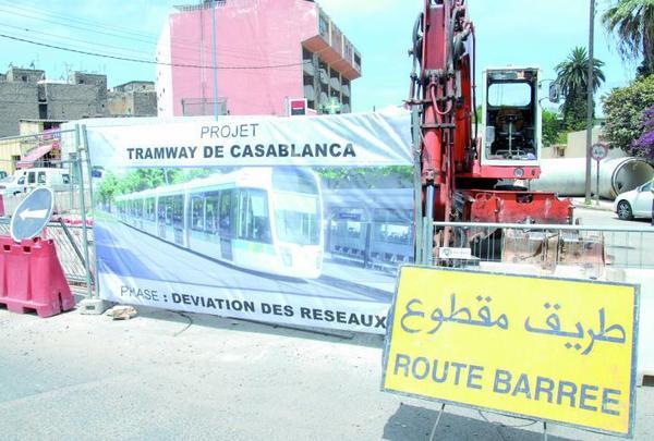 Première phase des travaux de tramway : A quand le retour au calme à Casablanca ?